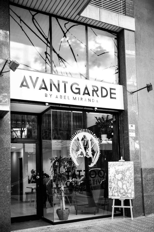 Avantgarde Tattoo Collective - Entrada