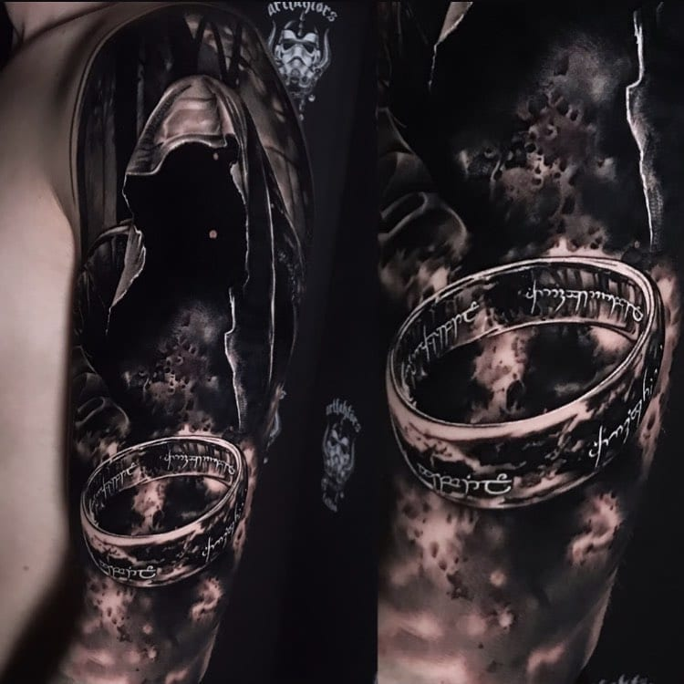 Tattoo Lord of the rings