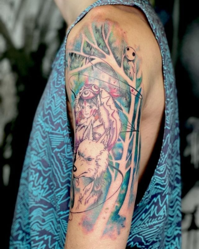 Tattoo mononoke