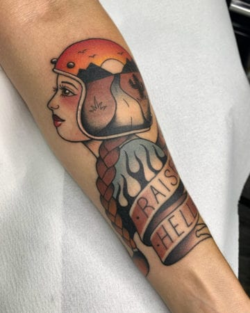 Tattoo tradicional kawai