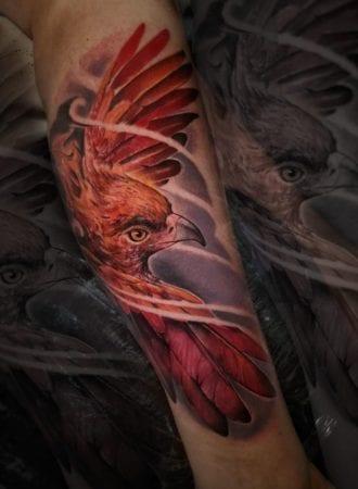 Tattoo Ave Fenix