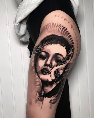 Tattoo Black work