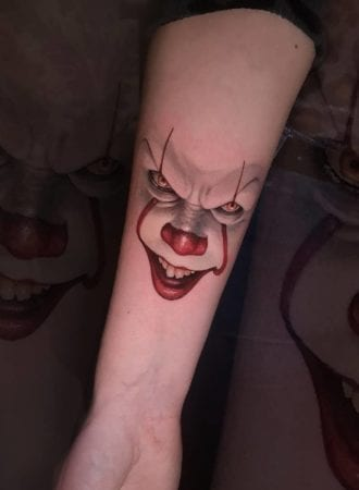 Tattoo IT payaso